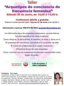 taller arquetipos de conciencia femenina, ecocentro ceroestres